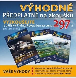 Flying revue předplatné na zkoušku